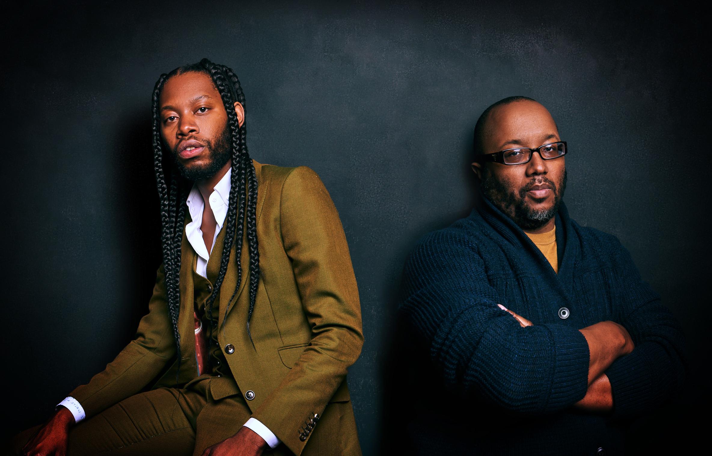 Jeremy O. Harris & Robert O'Hara photo by Jenny Anderson